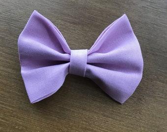 Light lavender girl/baby/toddler bow