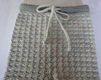 PATTERN - Baby and toddler pants crochet pattern (3 sizes included)
