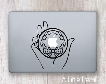 Sailor Moon Macbook Decal, Sticker Macbook, Laptop Decal Sailor Moon, Laptop Sticker Sailor Moon, Anime Decal