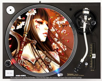 Warrior Princess - DJ slipmat