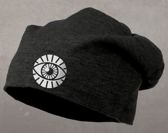 Third Eye Beanie, Slouch Style Hat