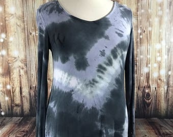 Shades of gray bell skeeved tunic