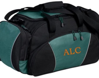 Monogrammed Gym Bag, Personalized Duffel Bag, Gym Bag, Monogram, Duffle, Sports Bag, Workout, Coach Gift, Overnight Travel Bags, Embroidery