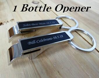 Personalized Bottle Opener, Beer, Groomsmen Gift, Engraved Beer Bottle Opener, Housewarming Gifts, Father of the Bride, Groomsmen Gift