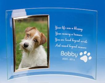 Dog Memorial Photo Frame, Pet Memorial Frame, Pet Loss Picture Frame, Pet Loss Gift, Loss of Dog Gift, Pet Memorial, Pet Sympathy Gift