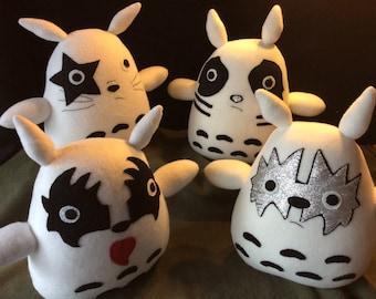 Kiss Inspired Totoro Full Band