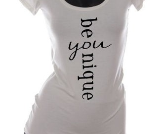 Be - you - nique, T shirt, graphic t shirt,