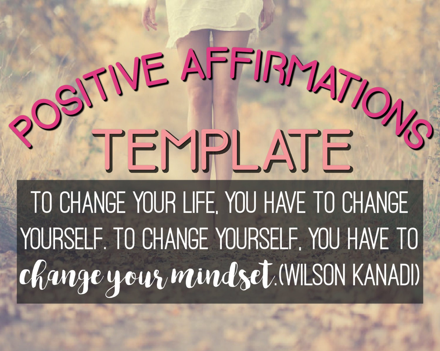 Workbooks the creative visualization workbook : TEMPLATE for Affirmations Workbook/Affirmation