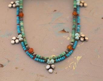 Trio Charm Necklace