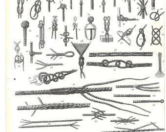 1816 Original Copper Engraving Antique Print