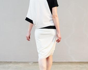 SERGE - skirt - cream