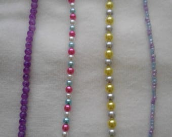 Beaded Braclets with lobster claw clasp