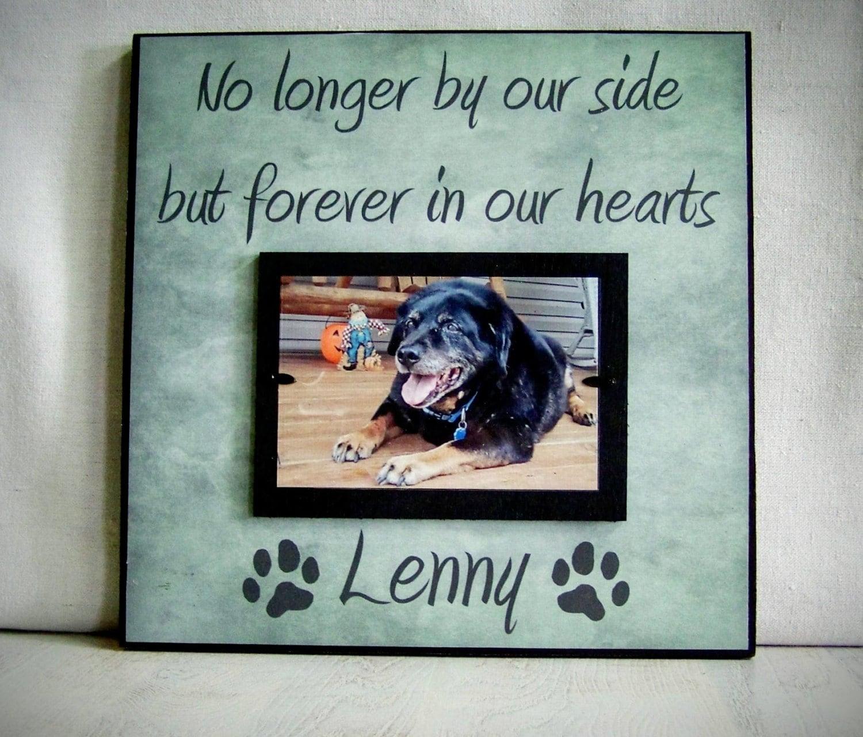 Personalized Pet Picture Frame Pet Memorial Dog Memorial