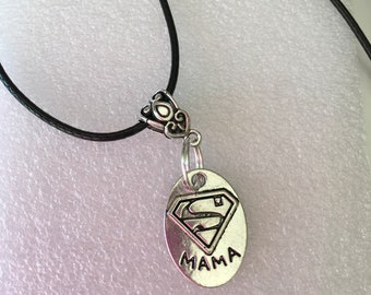New, New Super MaMa Pendant Necklace