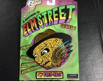 Fred-Face horrorball pin