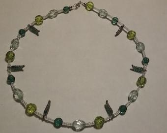 Summer Green Necklace