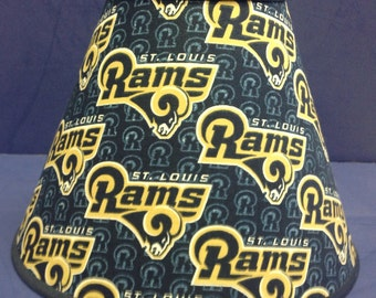 Rams Lamp Shade Football