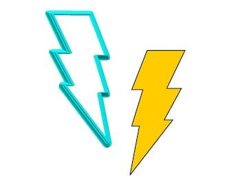 Lightning Bolt Cookie Cutter