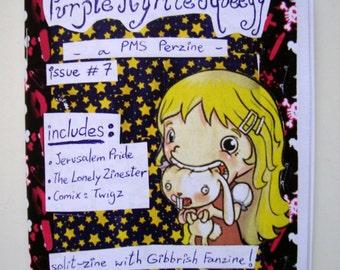 PMS Perzine n. 7 - Split Zine with Gibbrish Fanzine