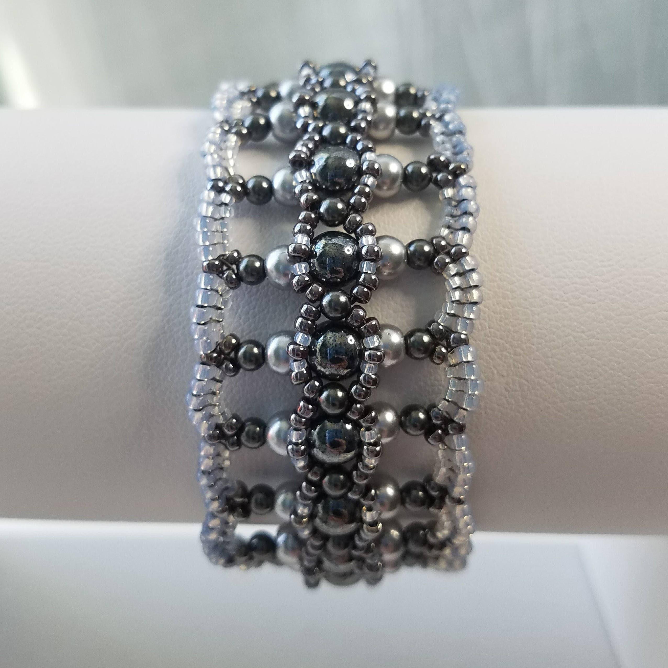 Lass es leuchten Perlen Armband