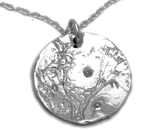 Sterling silver  Morning Dew small ajustable necklace