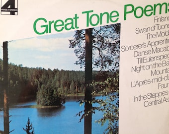 Great Tone Poems - 2 x vinyl record