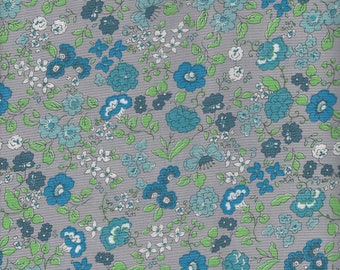 Blue Floral  by  Yuwa of Japan