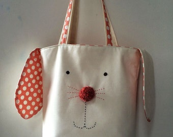 Reversible Bunny Tote Pattern