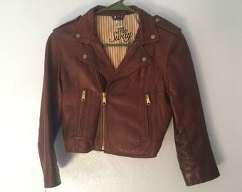 THE SWAY Leather Jacket