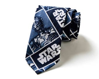 mens TIE neck checked STAR WARS  hisoutfit