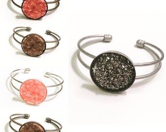 Druzy Bracelet, 25mm Setting