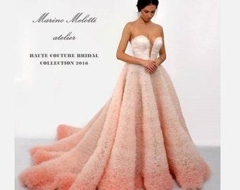 Ombre wedding dress | Etsy