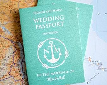 Concert Ticket Wedding Invitation Samples