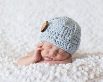 Baby Boy Hat, Baby Boy Clothes, Baby Boy Gift, Baby Boy Easter, Newborn Boy Hat, Newborn Boy Photo Prop, Newborn Boy Outfit, Knit Hat Baby