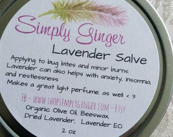 Lavender Salve//Lavender Lullaby Salve