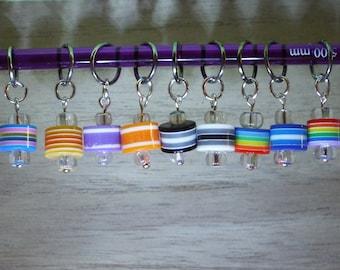 Stitch markers, stitch marker, set of 5, knitting tool