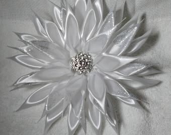 Large Flower Ribbon Corsages