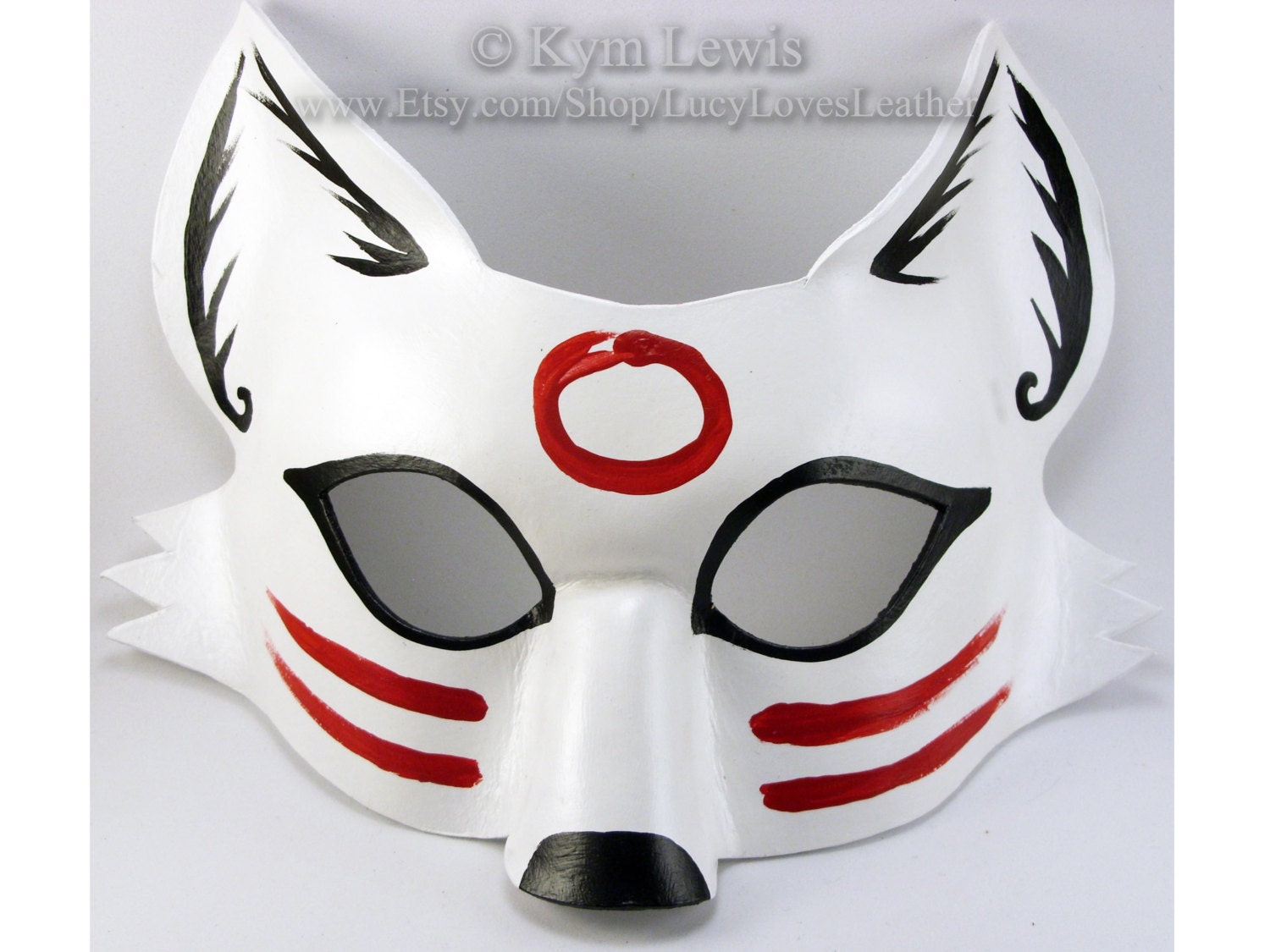 Traditional Japanese Kitsune Mask