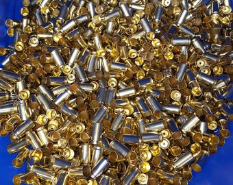 380 Unprocessed Reloading Brass casings (QTY 500)