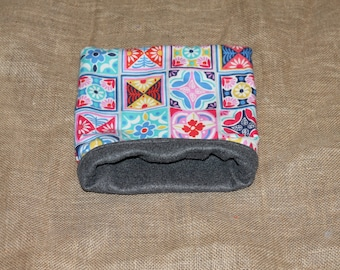 MEDIUM Mosaic Pouch for Small Pocket Pets- Guinea Pigs, Rats, Rodents, Hedgehogs and more!