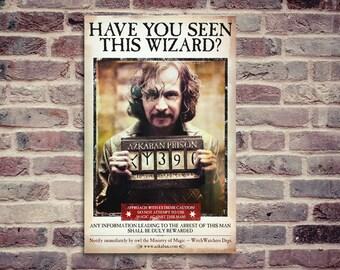 Harry Potter and the prisoner of Azkaban movie poster. Movie poster. Harry Potter.
