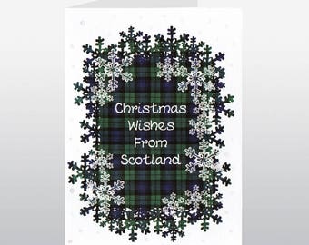 Christmas Wishes From Scotland Card WWXM66