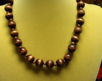 WOOD necklace and bracelet set