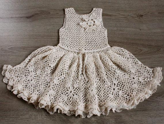 Häkeln Kleid. Muster No 14