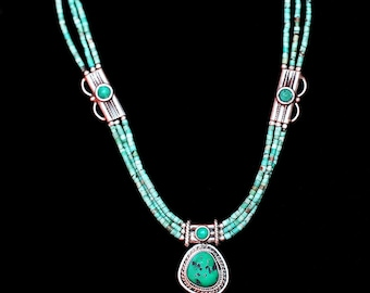 Turqouise and Silver Necklace