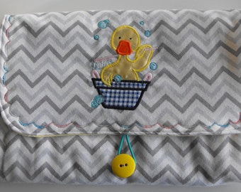 All in 1 Changing Pad Diaper Clutch