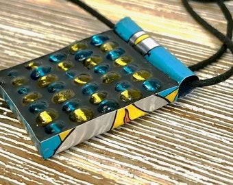 Upcycled Mosaic Necklace