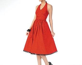McCalls Sewing Pattern M7157 Misses' Halter Dresses