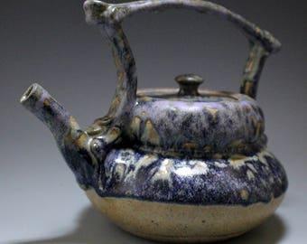 Ceramic teapot, stoneware teapot