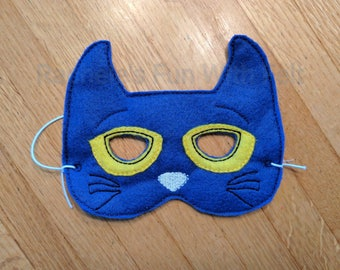 Pete the Cat mask